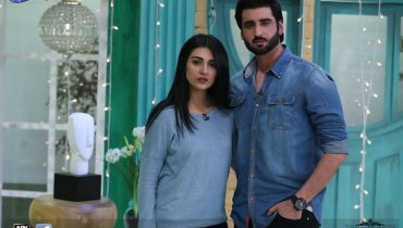 See Couple Sarah Khan and Agha Ali in The Morning Show