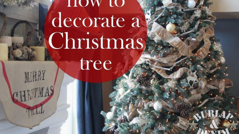 how to decorate christmas tree on a budget stylepk