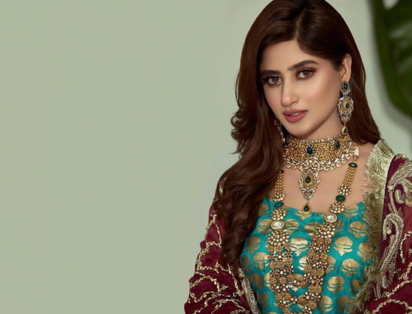 See Beautiful Clicks of Charming Sajal Ali from Recent Photoshoot for Haroon Sharif Jewellers!