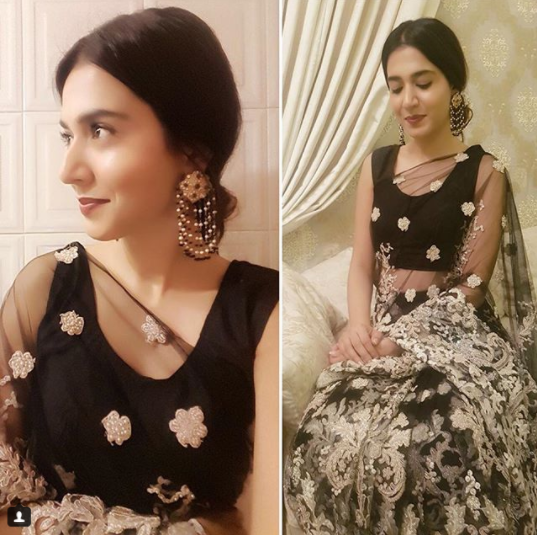 See Mansha Pasha at a Recent Wedding Event