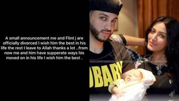 See Mathira and her husband Flint J divorced each other