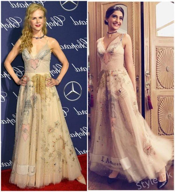 Sonam Kapoor and Nicole Kidman – Dior