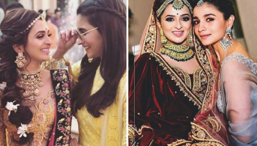 Ali Bhatt Is The Perfect Bridesmaid At Her Best Friend's Wedding