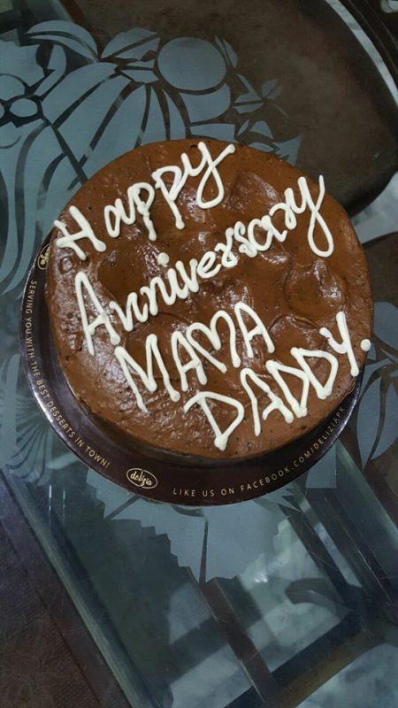 Afraz rasool celebrated his th wedding anniversary