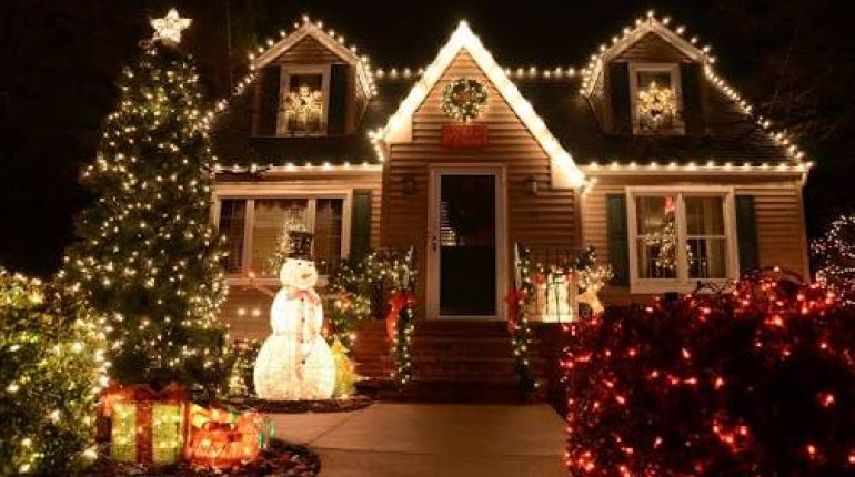 Outdoor Christmas Decoration Ideas.Unique Outdoor Christmas Decoration Ideas 2017 Style Pk