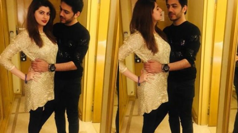 Internet Overreacts To Gohar Mumtaz Posing Closely With His Wife