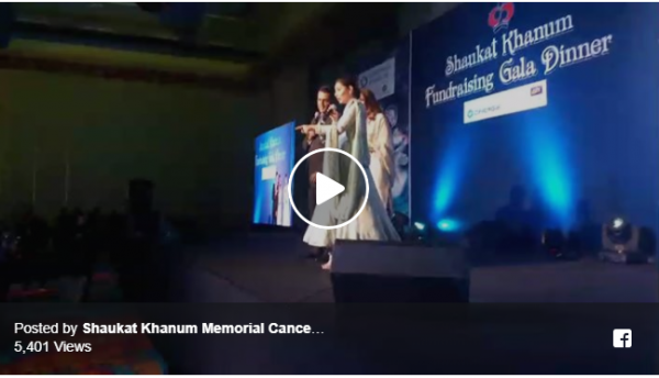 Mahira Khan, Maya Ali Grace The Shaukat Khanum In Dubai