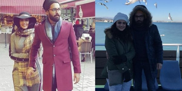 Zara Noor And Asad Siddiqui Enjoying Honeymoon Trip