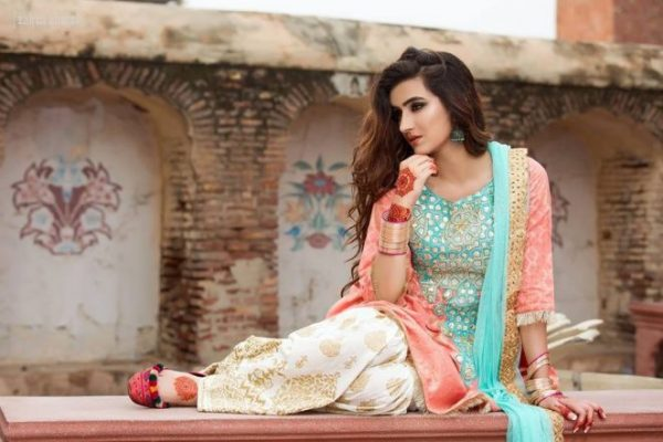 Zahra Ahmad Winter Collection 2018 For Women - Style Pk