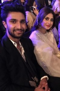 People Are Declaring Ahad Raza Mir And Sajal Aly As The Cutest Couple In Town