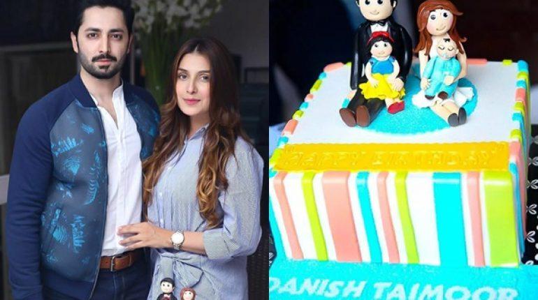 See Ayeza Khan Celebrated Danish Taimoor's 35th Birthday