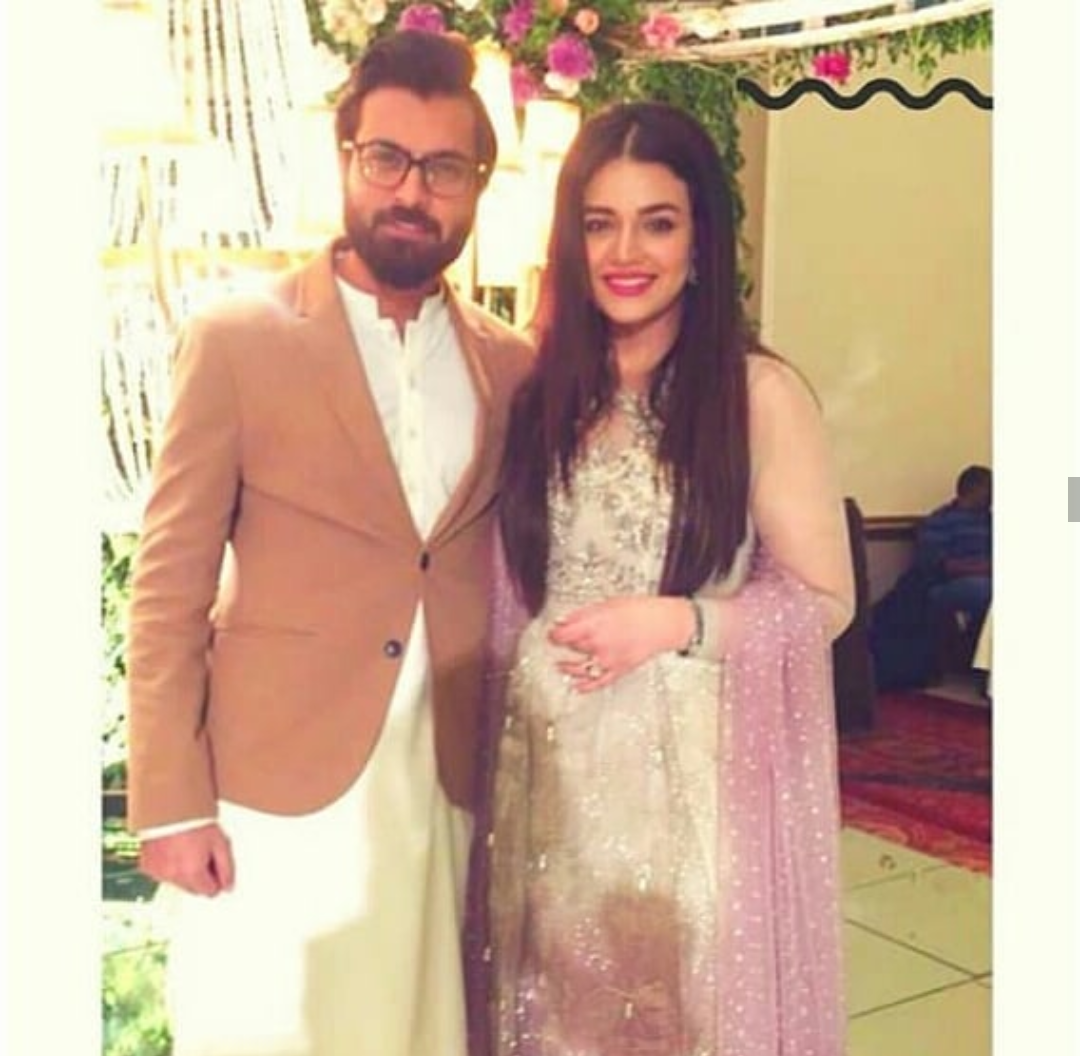 Asad Siddiqui And Zara Noor Abbas In A Recent Wedding