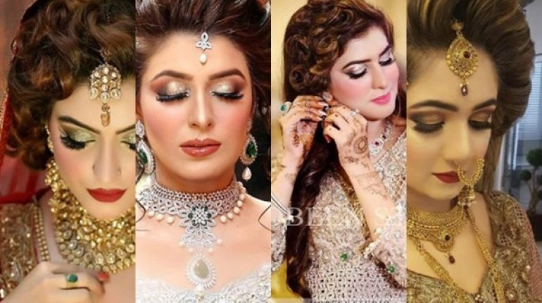 Latest Pakistani Bridal Hairstyles 2018