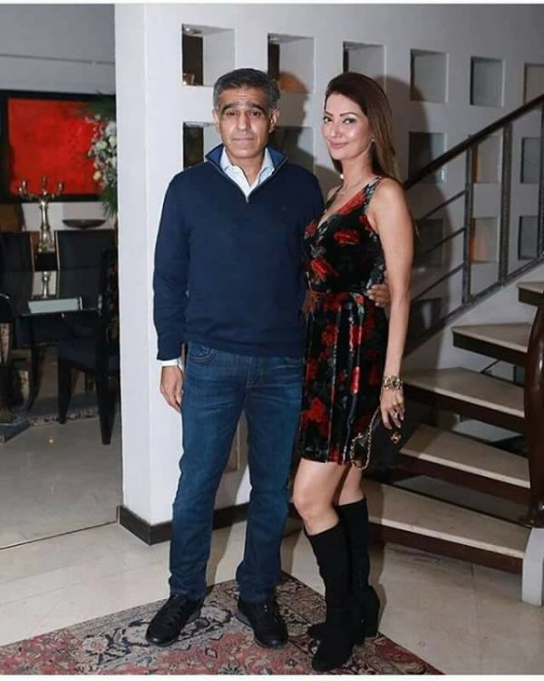 See Model Natasha Hussain spotted with her Husband