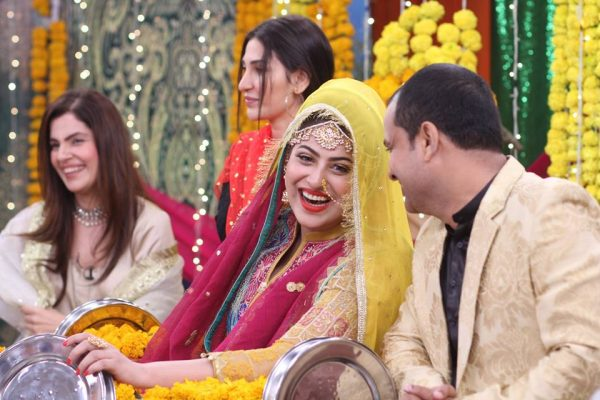 Mehendi Ceremony Look : Palwasha abrar s mehndi ceremony