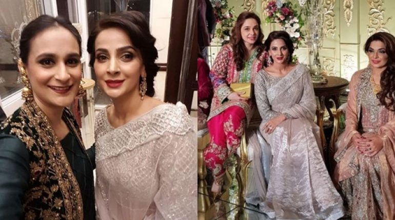 See Saba Qamar at a Wedding Event in Lahore