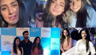 See Sarah Khan and Noor Khan at a recent Event