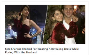 Syra Shahroz & Shahroz Sabzwari Once Again Targeted By The Internet