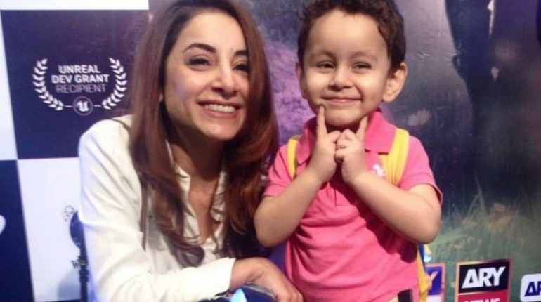 Sarwat Gillani And Fahad Mirza's Cute Son Rohan