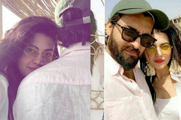 See Zara Noor Abbas and Asad Siddiqui at Beach