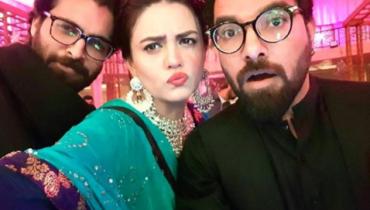See Zara Noor Abbas and Asad Siddiqui at Sonya Hussain sister's Wedding