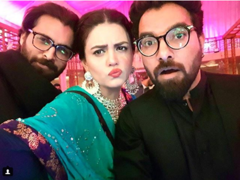 See Zara Noor Abbas and Asad Siddiqui at Sonya Hussain sister's Wedding