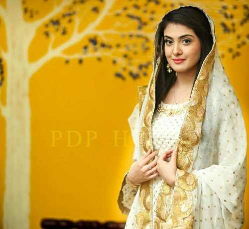 Actress Aleezay Tahir Got Nikkahfied