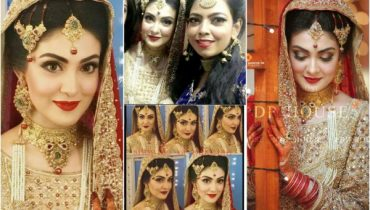 Gorgeous Aleezay Tahir On Her Wedding Day