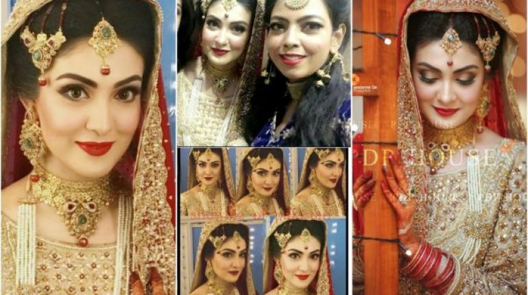 Gorgeous Aleezay Tahir On Her Wedding Day