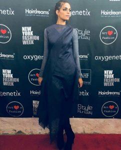 Sarish Khan First Pakistani To Walk In NYFW