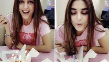 Maya Ali Cute Birthday Video Message For Osman Khalid