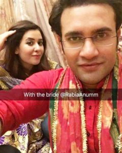 News Anchor Rabia Anum Wedding Pictures