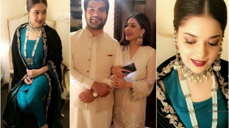 "Beautiful Sanam Jung With Her Husband At Recent Wedding Sanam Jung is one of very few actors, who have made their place in showbiz industry in a very less time. Sanam Jung is very elegant and good looking Pakistani actress. Sanam Jung is one of the most liked personalities of media due to her decency. She is very educated as well. She's a business graduate. She has got all help from her family and she feels very lucky to have such family Sanam Jung after working VJ has got fame and did her first Drama serial Dil-e-Muztar back in 2012. Sanam Jung has played role of Sila Adeel in this drama. It was gone on air on HUM TV. Sanam Jung is famously known as girl with golden touch. Sanam Jung has appeared in several dramas and all are gone hit, so Dawn has labeled her as ""girl with golden hands""She is very down to earth person."