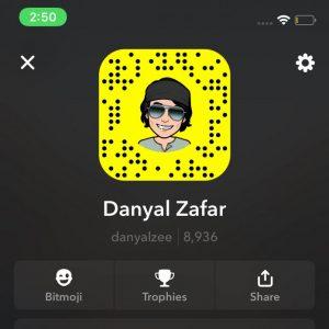Fake Danyal Zafar Is Fooling Fans On Snapchat