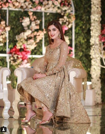 See Maya Ali at her Friend's Reception