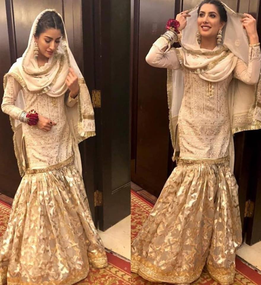 Mehwish Hayat Looks Stunning In A Traditional Dress
