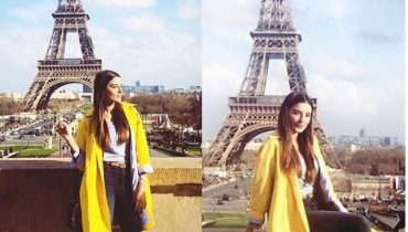 See Sadia Khan Vacationing in Paris