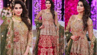 Gorgeous Fiza Ali in Farah Sadyaa's Morning Show