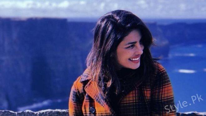Bollywood movie starry Pranka Chopra
