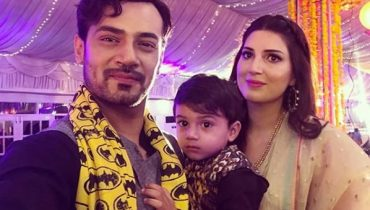 See Zahid Ahmed with his Wife and Son at a Wedding