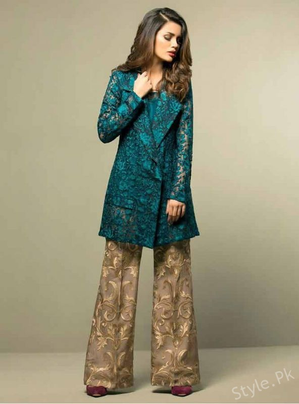 067ae6d8f Latest Eid Dresses Trends 2018 For Women - Style.Pk