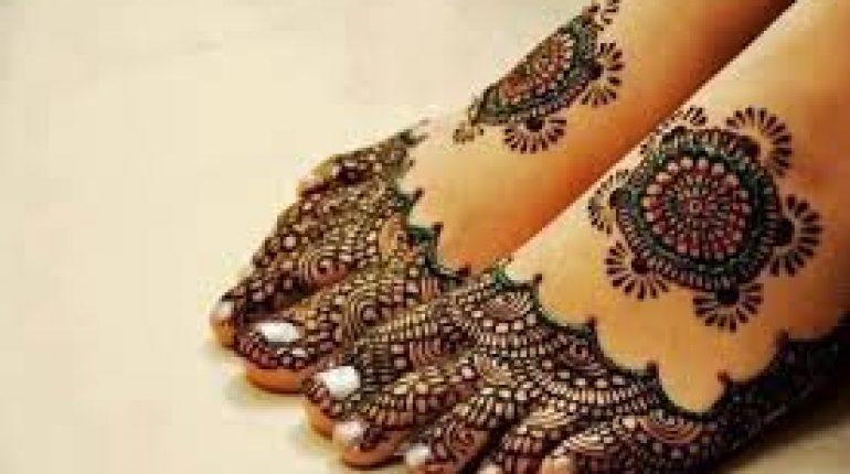 Mehndi Feet Images : Latest eid ul fitr mehndi designs for feet style pk