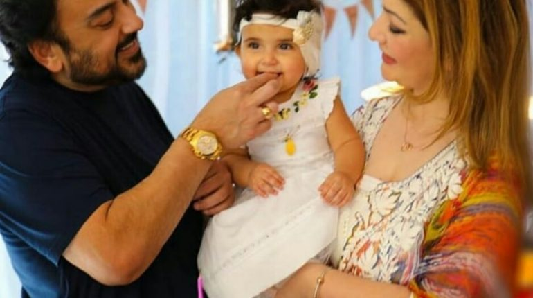 Adnan Sami And Wife Celebrated Daughter Medinas First Birthday