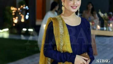 see Sajal Ali at her Friend's Engagement