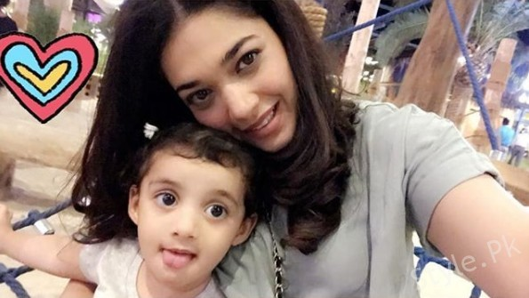 See Sanam Jung's latest pictures with her daughter