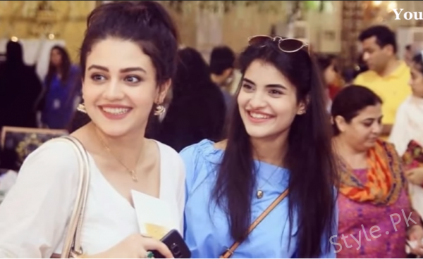 Latest Clicks of Zara Noor Abbas With Her Sister In Law Rehab Siddique