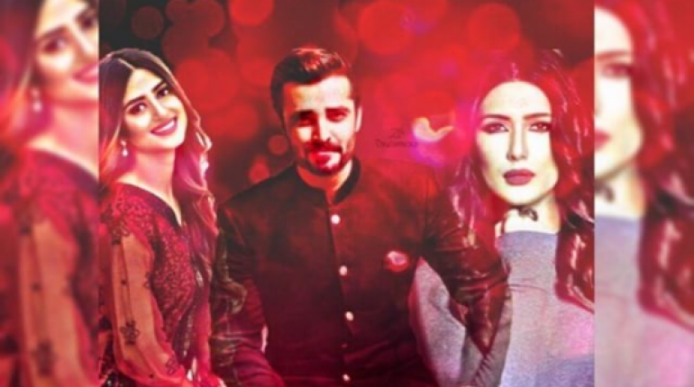 Hamza Ali Abbasi, Sajal Aly And Kubra Khan Pair Up For Alif