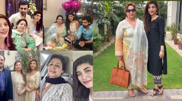 Beautiful Clicks of Urwa Hocane With Her Mother In Law