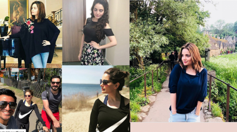 Latest Beautiful Pictures Of Armeena Khan In Her Home Town UK