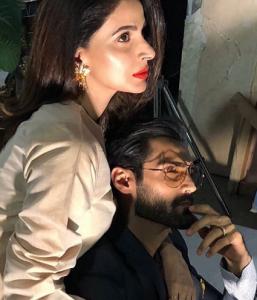 Sizzling Photoshoot Of Saba Qamar And Hasnain Lehri